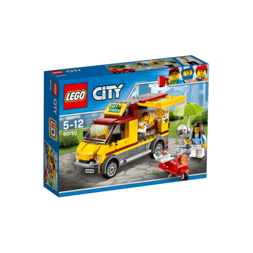 Lego City Pizza Minibüsü