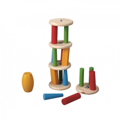 Plan Toys Kule Dizme (Tower Tumbling)