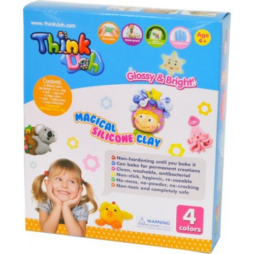 THINK DOH 4 RENK I-SILICONE SET